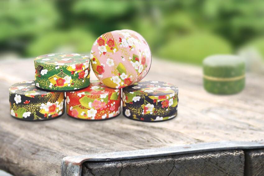 Teedosen für Matcha