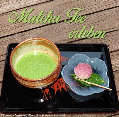Matcha Tee erleben mit unseren Partnern
