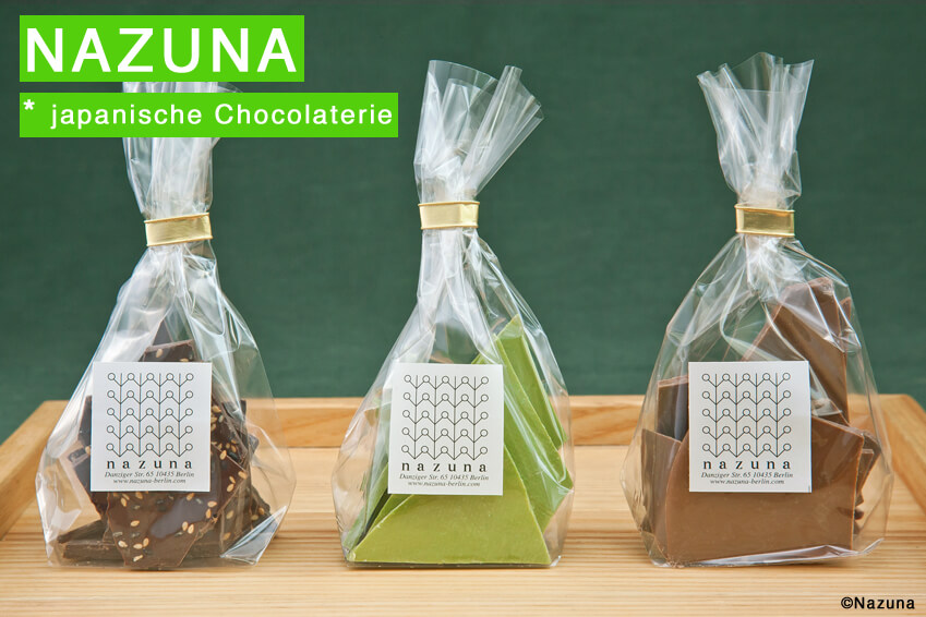 Japanische Chocolaterie Nazuna in Berlin