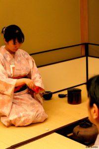 Matcha Teezeremonie der Urasenke Teeschule