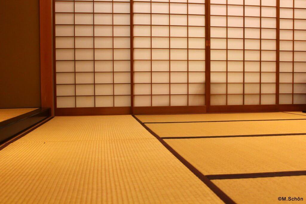 japanische Teezeremonie Teeraum