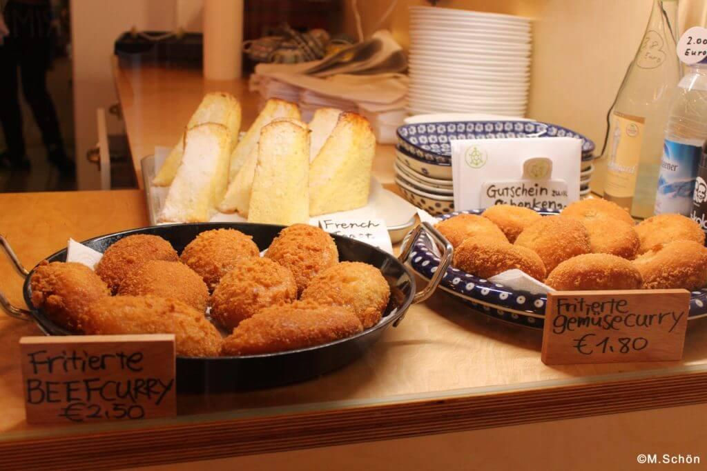 Currypan aus der japanischen Bäckerei